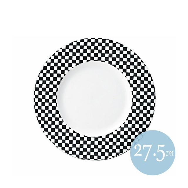 【送料無料】 トレーセ 27.5cmリムプレート ブラック 6枚セット KOYO コーヨー(18037002)業務用(食器 プレート 皿)