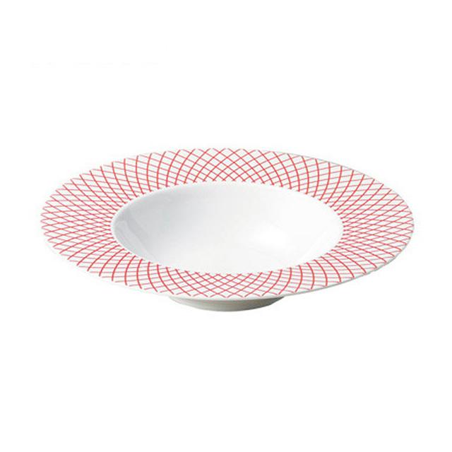 【送料無料】コーヨー クーラント 26.5cmディープスープボール レッド 6枚セット (806423-6P) [洋食器][業務用 食器]