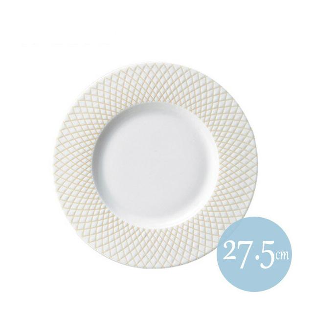 【送料無料】クーラント 27.5cmリムプレート ベージュ 6枚セット KOYO コーヨー(18026002)(プレート 皿)(洋食器)業務用