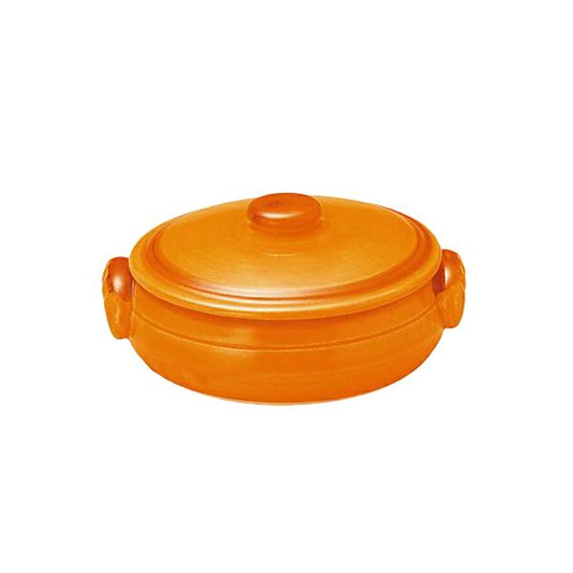 【送料無料】コーヨー クジーネ グロス オレンジ 17.5cm キャセロール 6枚セット (996476-6P) [洋食器][業務用 食器]
