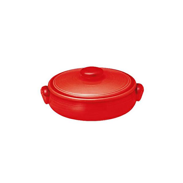 【送料無料】コーヨー クジーネ グロス レッド 14.5cm キャセロール 6枚セット (996877-6P) [洋食器][業務用 食器]