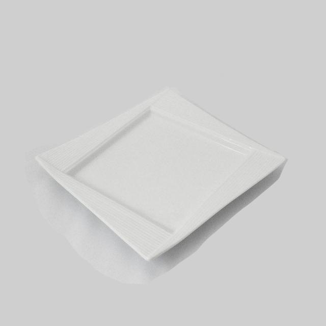 【送料無料】 フジ ホワイトスイートプレート M 6枚セット 22cm(JS-238)( 業務用 食器 プレート 皿)業務用