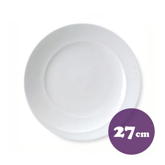 【送料無料】ディナー皿 27cm 6枚 カネスズ スネール(25600402-6P)業務用