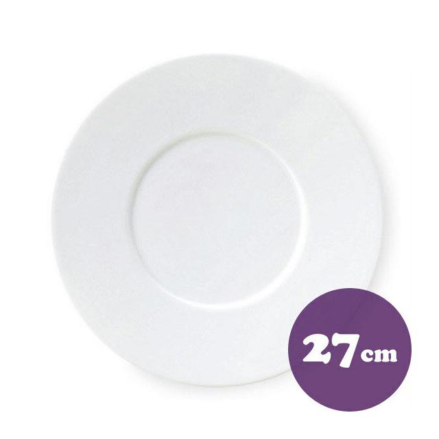 【送料無料】ディナー皿 27cm 6枚 カネスズ プレノ(57500402-6P)業務用