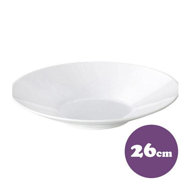 【送料無料】パスタ皿 6枚 26cm カネスズ プレノ(57500853-6P)( 業務用 食器)