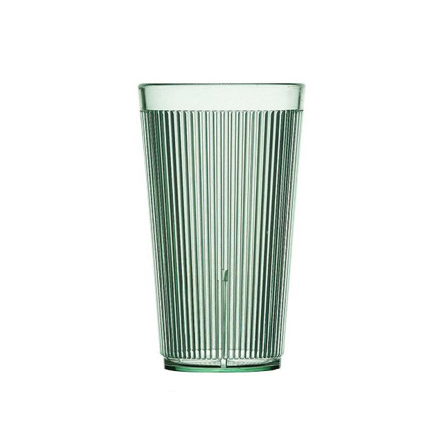 【送料無料】カーライル クリスタロン リムグロー タンブラー16oz メドウグリーン 48個入(CR-3113)CARLISLE 割れないグラス