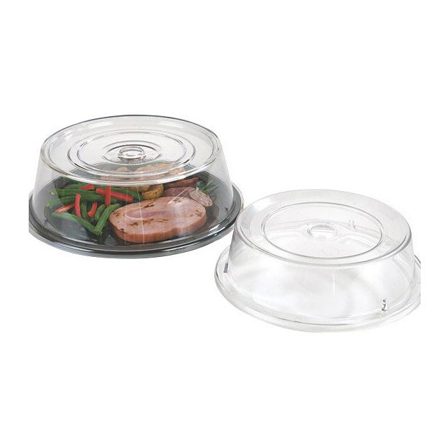 【送料無料】カーライル プレートカバー 1989(クリア)12個セット(CR-3491)CARLISLE 割れない食器 プレート お皿