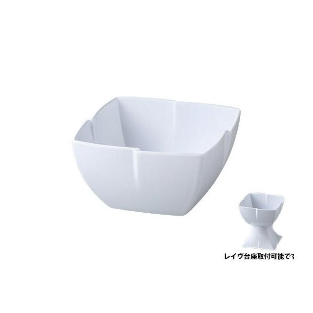 【送料無料】 カーライル レイヴ サービングボール M(ホワイト)6個入(CR-3501)CARLISLE 割れない食器 プレート お皿