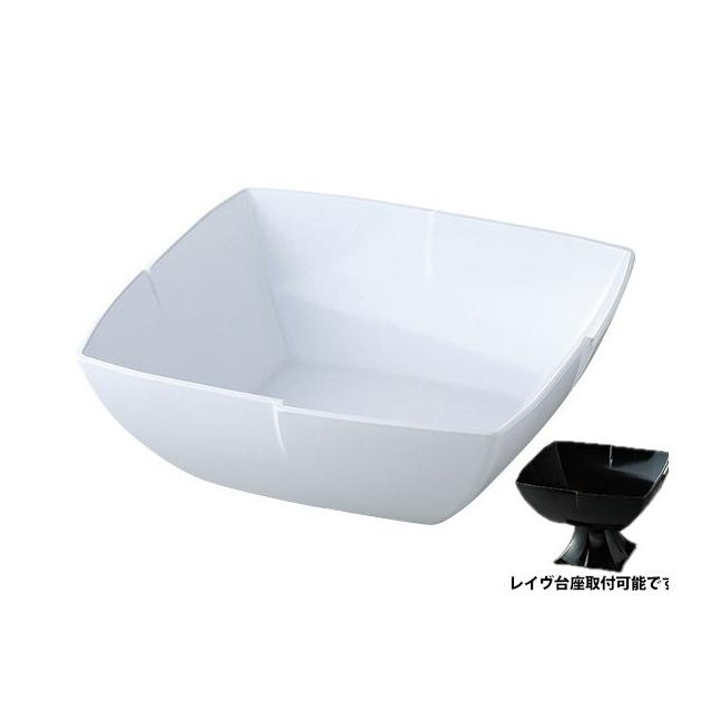 【送料無料】カーライル レイヴ サラダボール (ホワイト) 6個セット (CR-3503) [CARLISLE 割れない食器 プレート お皿][業務用 食器]