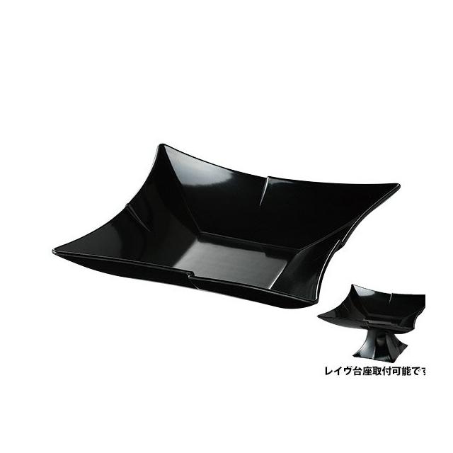【送料無料】カーライル レイヴ スターバーストボール(ブラック)6個セット(CR-3506)CARLISLE 割れない食器 プレート お皿