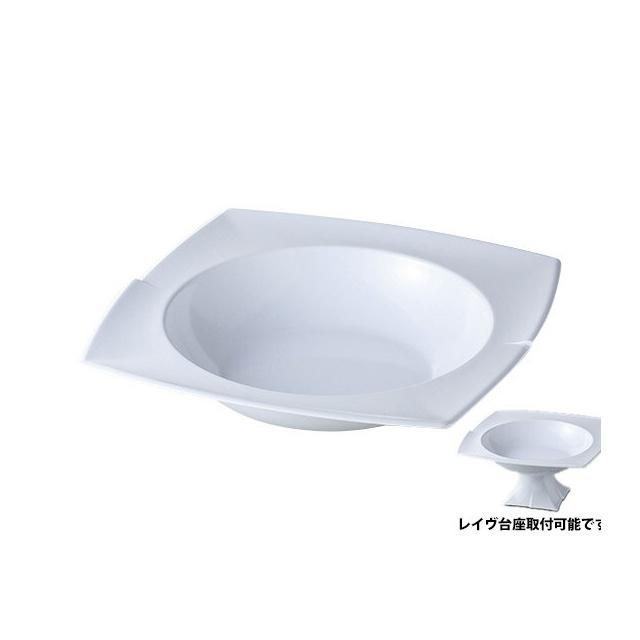 カーライル レイヴ リムボール (ホワイト) 6個セット (CR-3507) [CARLISLE 割れない食器 プレート お皿][業務用 食器]