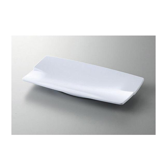 【送料無料】カーライル レイヴ レクタングルプレート L (ホワイト) 6個セット (CR-3513) [CARLISLE 割れない食器 プレート お皿][業務用 食器]