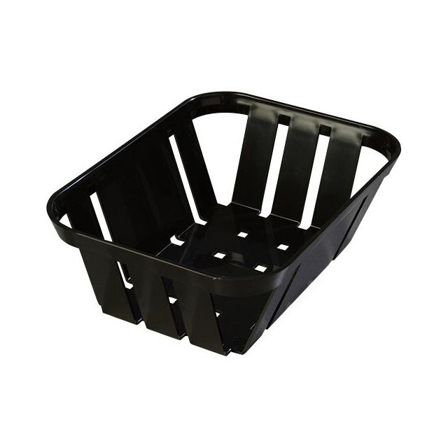 【送料無料】カーライル マンチー バスケット M(ブラック)12個セット(CR-3540)(CARLISLE 割れないカゴ かご サービス用品)業務用