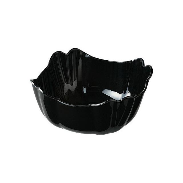 【送料無料】カーライル オーキッド デリボール M (ブラック) 12個セット (CR-3585) [CARLISLE 割れない食器 プレート お皿][業務用 食器]