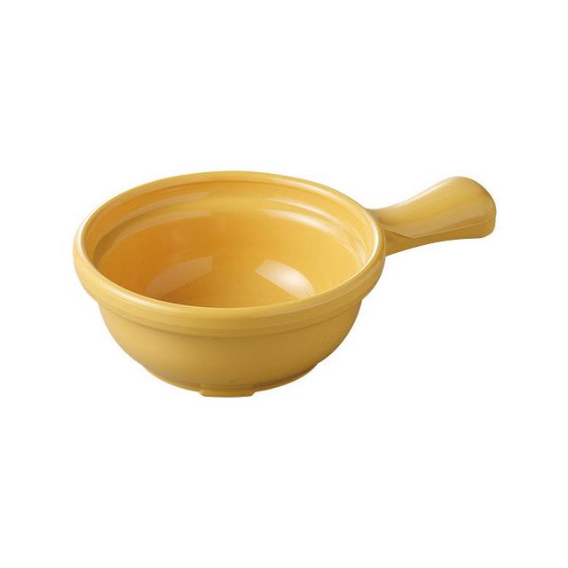 【送料無料】カーライル ハンドル スープボール(ハニーイエロー)24個セット(CR-3621)CARLISLE 割れない食器 プレート お皿