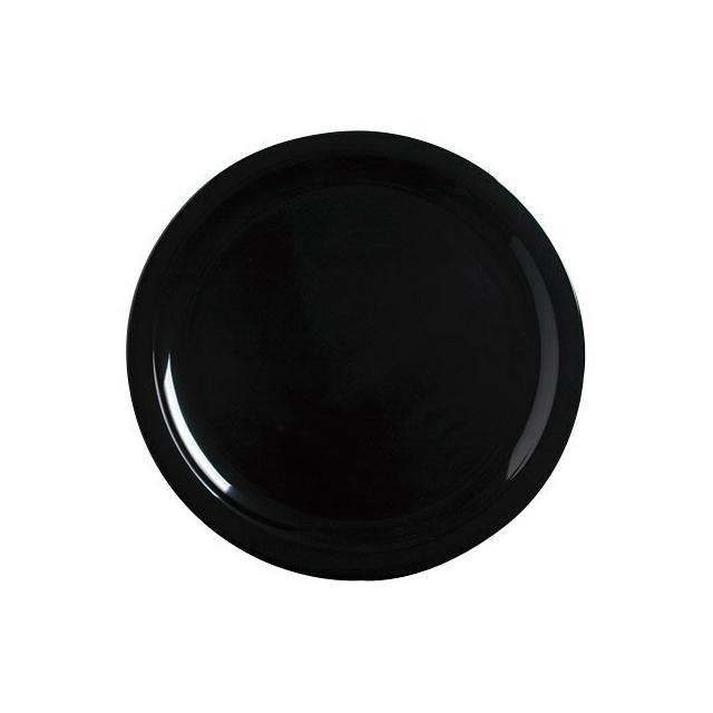 【送料無料】カーライル キングライン ディナープレート 25.5cm(ブラック)48個セット(CR-3649)CARLISLE 割れない食器 プレート お皿