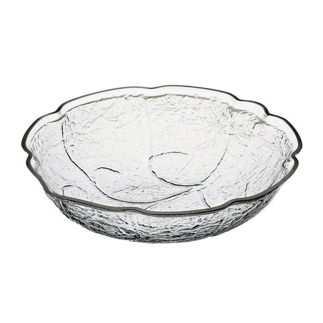 【送料無料】カーライル リーフ ボール L (クリア) 4個セット (CR-3659) [CARLISLE 割れない食器 プレート お皿][業務用 食器]