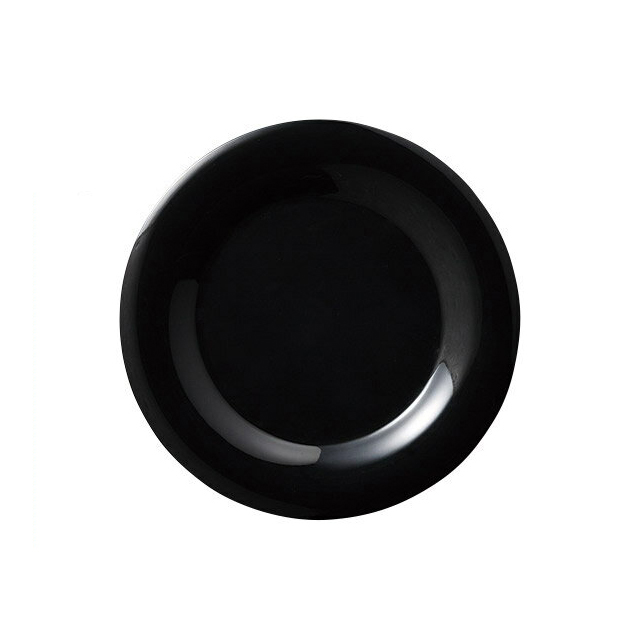 【送料無料】 カーライル シーラスワイド ディナープレート 27cm ブラック 12個入(CR-3712)CARLISLE 割れない食器 プレート お皿