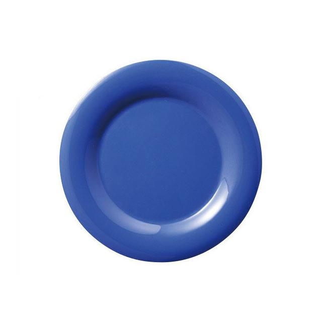 【送料無料】カーライル シーラスワイド パイプレート 16.5cm オーシャンブルー 48個入(CR-3739)CARLISLE 割れない食器 プレート お皿
