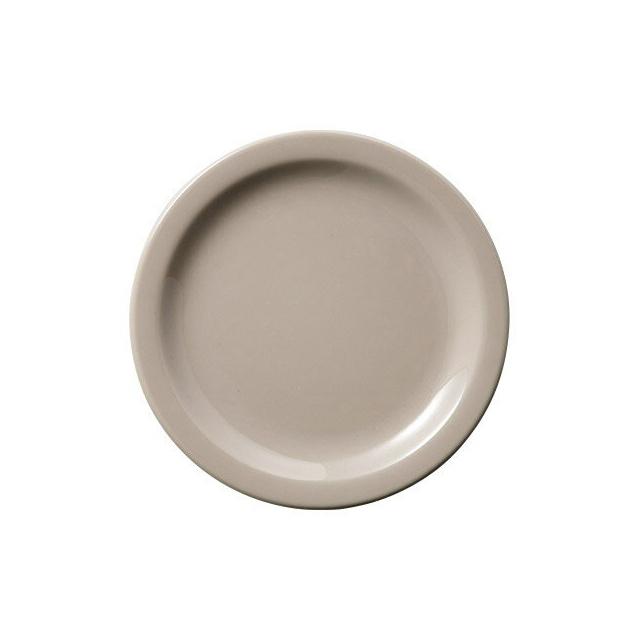 【送料無料】カーライル デイトン オーバルプラター 23.5cm (トリュフ) 24個セット (CR-3802) [CARLISLE 割れない食器 プレート お皿][業務用 食器]