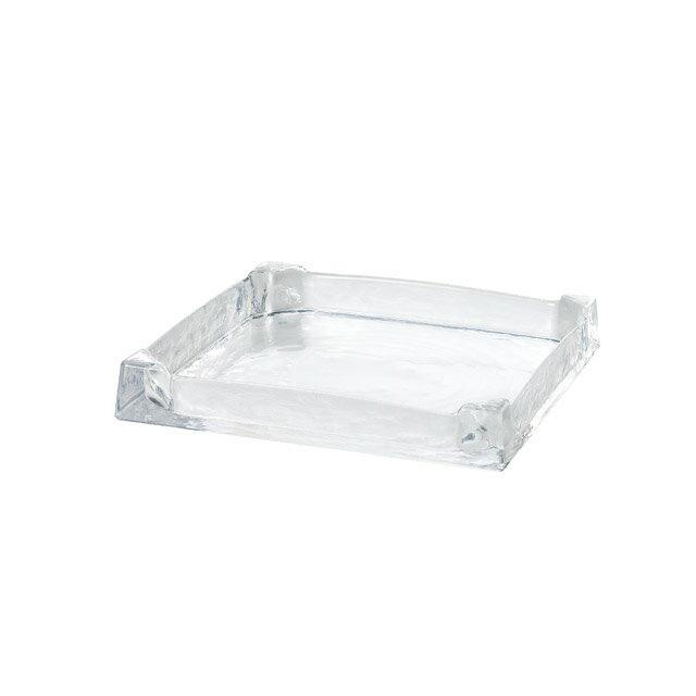 東洋佐々木ガラス グラッセ・スクエアトレー スクエアトレー240 (46417)