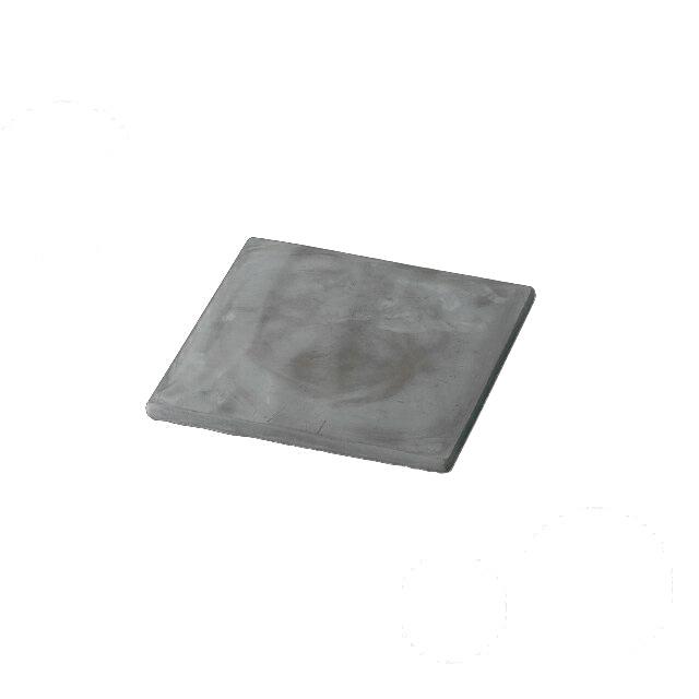 【送料無料】食器皿 スクウェアプレート コンクリート 200(I2-002-02)(和美作日)(wabisabi)業務用