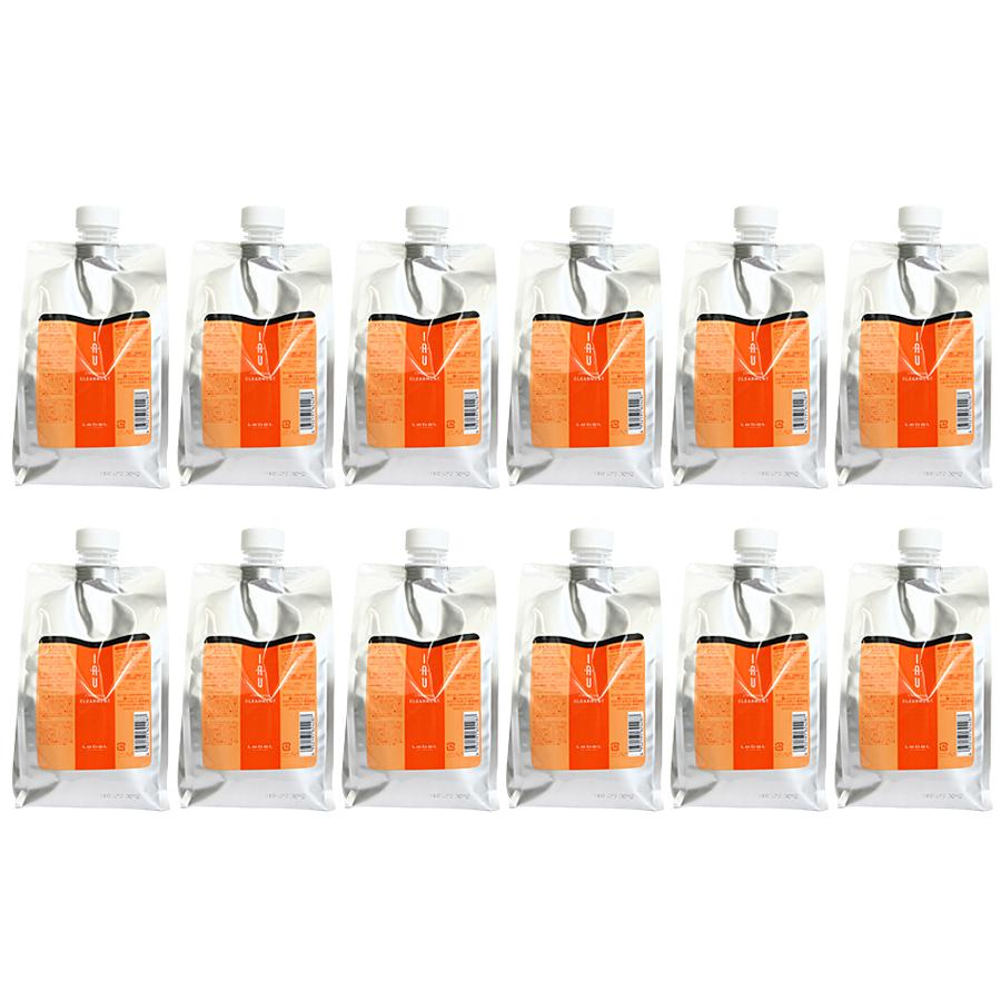 【即納】ケース販売 12袋セット ルベル Lebel イオ クレンジング クリアメント シャンプー 1000ml /4952195624287
