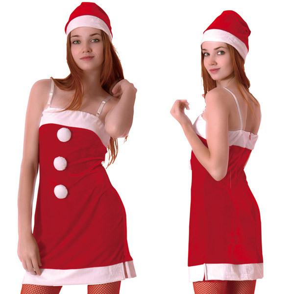 プリティーサンタ コスプレ クリスマス サンタ サンタコス サンタクロース セクシー 大人 コスチューム キャバ ギャル 衣装 可愛い パーティー イベント 仮装