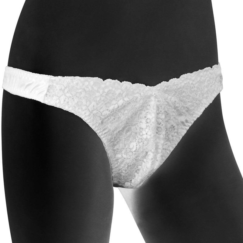63ebafc5ff4 Point reduction / ◆ front desk race elegant men T back shorts L white men  lingerie sexy game underwear inner event party clothes