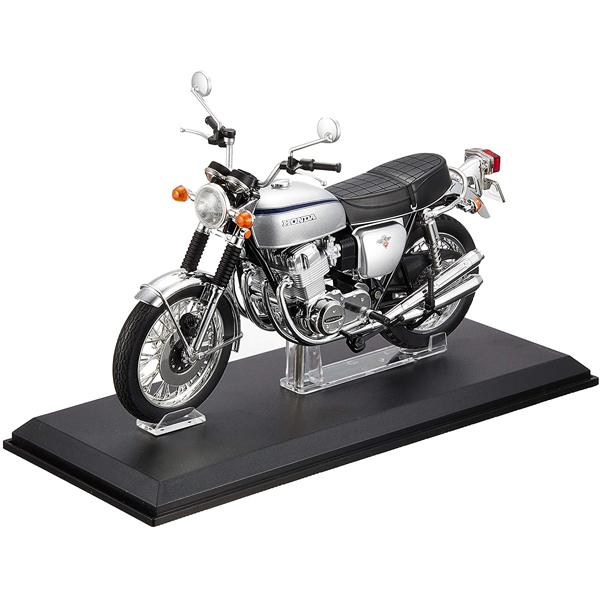 アオシマ AOSHIMA おもちゃ コレクション mk0558 特別セール品 青島文化教材社 CB750FOUR 1 Honda シルバー K2 12完成品バイク 高級