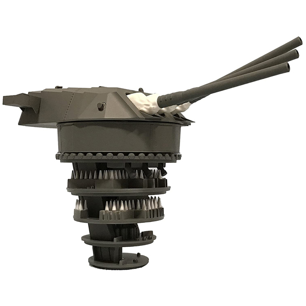 フジミ fujimi ギフ_包装 おもちゃ コレクション mk1681 フジミ模型 1 一部予約 九四式46センチ3連装主砲塔 200 装備品3 増設機銃付き 戦艦大和