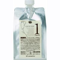 【送料無料】ソープオブヘア 1Maマグノリア(木蓮)の香り エコサイズ 1000ml【シャンプー】【つめかえ】【オブ・コスメティックス】
