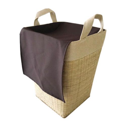 【NEW】竹ランドリーバスケット/L/縦型/竹かご 収納 かご インテリア