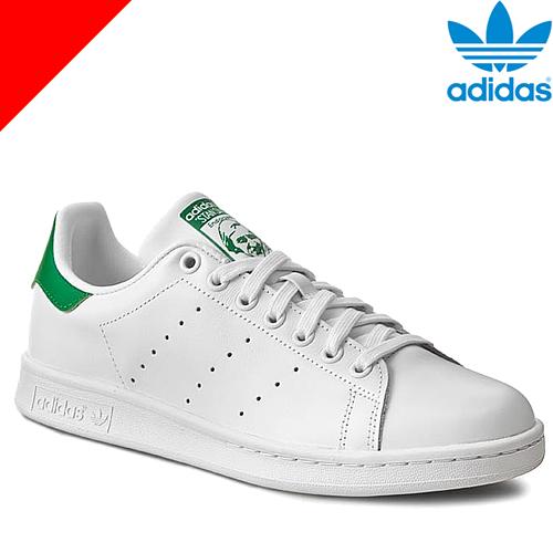 アディダス オリジナルス スニーカー スタンスミス メンズ レディース 白 黒 ホワイト ネイビー adidas Originals STAN SMITH M20324 [アウトレット]