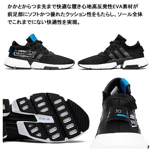 adidas P.O.D. S3.1 Black Blue | CG6884