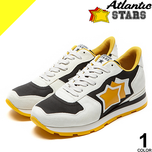 アトランティックスターズ スニーカー メンズ ブランド アンタレス 白 黒 ホワイト ブラック 大きいサイズ 靴 おしゃれ カジュアル 疲れない Atlantic STARS ANTARES BNY-12B