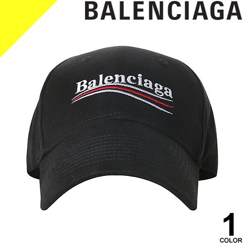 バレンシアガ キャップ ベースボールキャップ 帽子 メンズ ブランド カジュアル 大きいサイズ 黒 ブラック BALENCIAGA 561018 410B2 1077