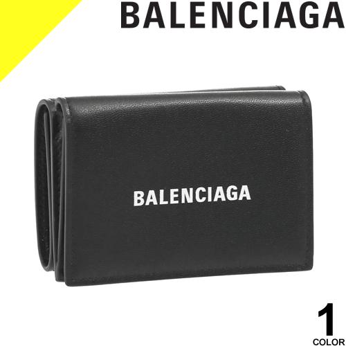 バレンシアガ BALENCIAGA ミニ財布 スナップボタン メンズ レディース ユニセックス 小銭入れあり ブラック CASH MINI WALLET 594312 1I313
