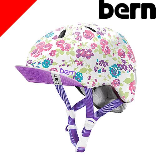 bern バーン ヘルメット キッズ ニーナ Nina 子供用 自転車 スケボー ボード スキー ジュニア 子供 女の子 幼児 1歳 2歳 3歳 4歳 5歳 6歳 おしゃれ [アウトレット]