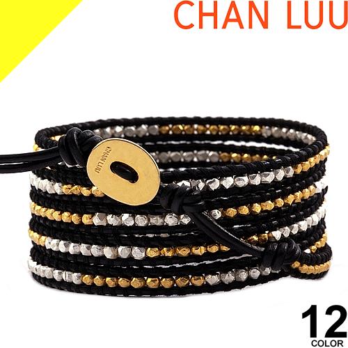[31,900円→19,758円] CHAN LUU チャンルー 5連 ブレスレット ラップブレス 正規品 メンズ レディース レザー ブランド