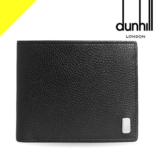 ダンヒル 財布 二つ折り財布 メンズ ベルグレイヴ ブランド 薄い 本革 コンパクト 黒 ブラック dunhill Belgrave 4CC & Coin Purse Billfold Wallet DU19F2320AR