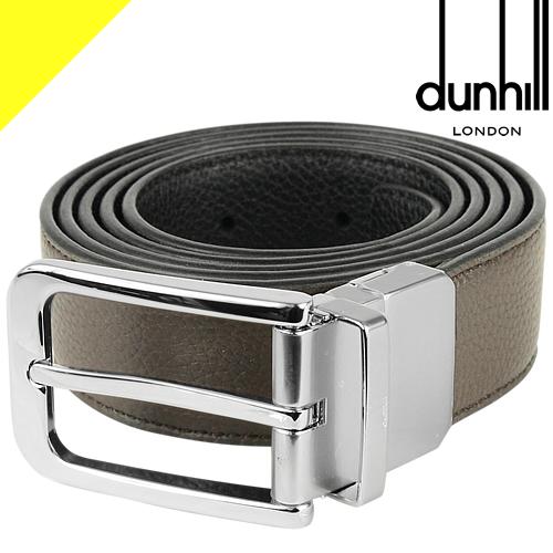 ダンヒル ベルト メンズ リバーシブル ブランド ビジネス カジュアル 本革 おしゃれ プレゼント 黒 ブラック ブラウン dunhill Reversible Buckle Belt DU20R4T05GR 201 42
