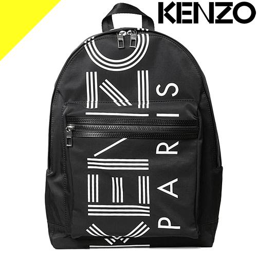 ケンゾー バッグ リュック リュックサック バックパック メンズ レディース ブランド おしゃれ かわいい ロゴ プリント 黒 ブラック KENZO F855SF213F24 99