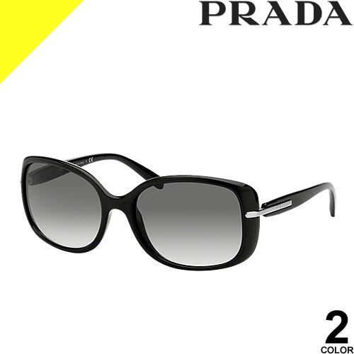 [定価33,000円→16,193円] プラダ サングラス レディース メンズ ブランド UVカット 薄い 色 紫外線対策 スクエア PRADA 08OS 2AU6S1 1AB0A7
