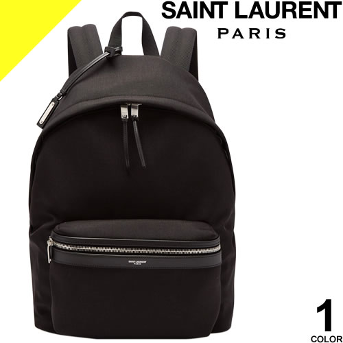 サンローラン パリ バッグ リュック リュックサック バッグパック メンズ レディース ブランド おしゃれ 大人 黒 ブラック SAINT LAURENT PARIS CITY BACKPACK 534967 GIV3F