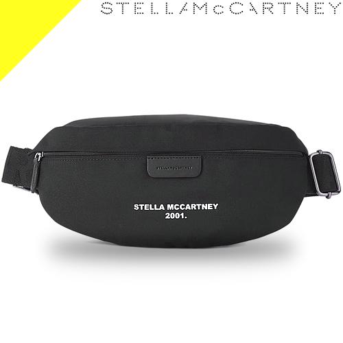 ステラマッカートニー ボディバッグ ウエストポーチ ウエストバッグ レディース メンズ 大きめ ブランド ナイロン 大容量 ファニーパック 2way 黒 ブラック ロゴ かわいい きれいめ Stella McCartne 570173 W8499