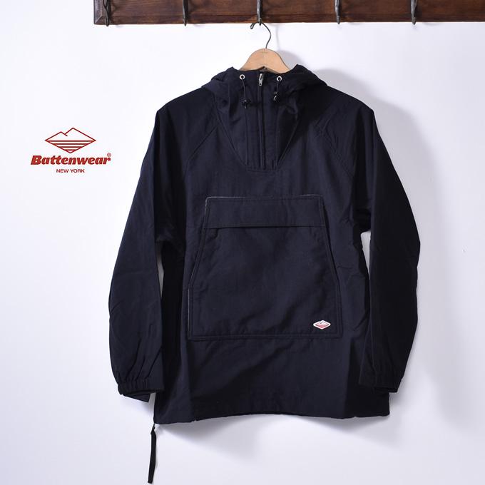 ★50%OFF SALE!2018FWモデルMade in USA【Battenwear】バテンウェアScout Anorak スカウト アノラックBLACK ブラック