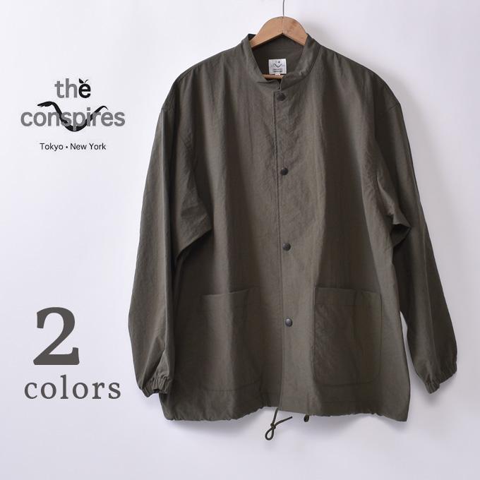 【THE CONSPIRES】コンスパイアーズSB STAND COLLAR COATエスビースタンドカラーコート全2色