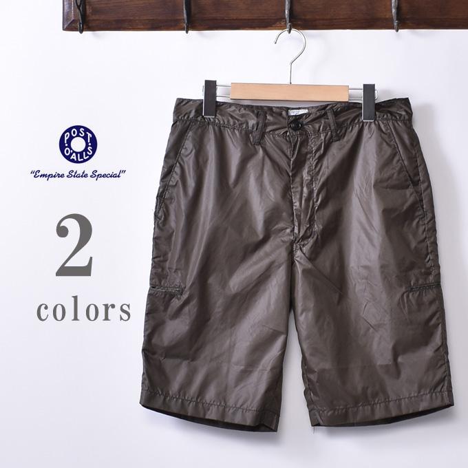 【POST OVERALLS】ポストオーバーオールズCITI-Cruz Shorts(#2321S)NYLON TAFFTAシティクルーズショーツ ナイロンタフタ全2色《S-30》
