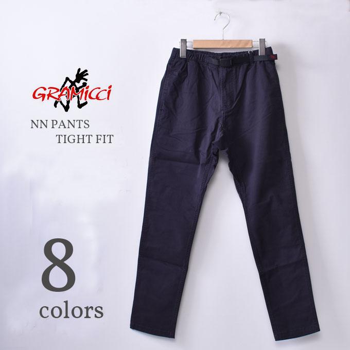 【GRAMICCI】グラミチNN PANTS TIGHT FIT(8818-FDJ)ニューナローパンツ タイトフィットクライミングパンツ イージーパンツ全7色z10x